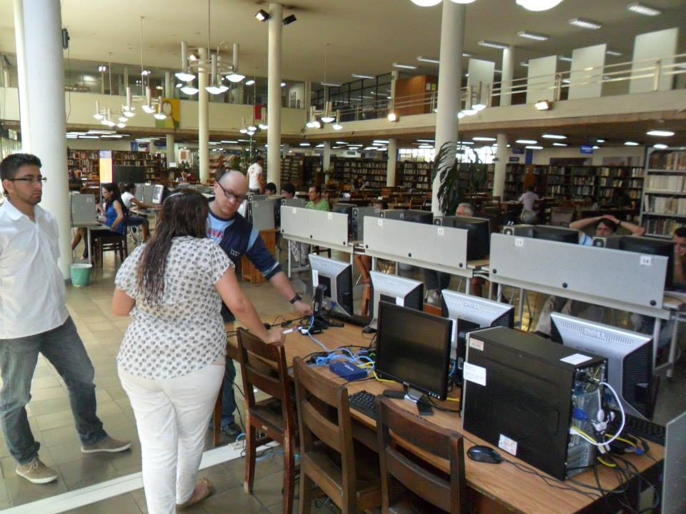 InterConnection donated a 5-seat Multipoint Server System to the Public Pilot Library of Medellín