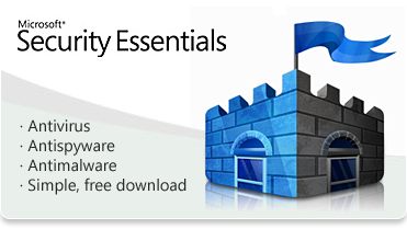 Hp pcs using microsoft security essentials to protect against.