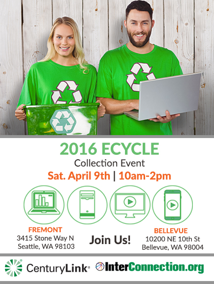Don't Miss the 2016 eCycle Collection Event!