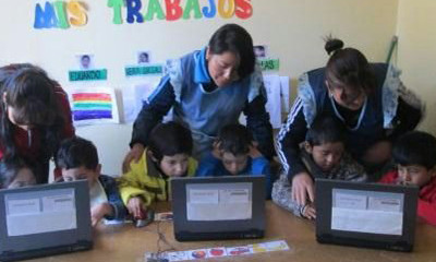 Students & Staff at Manos Unidas Thrive with Addition of Donated Laptops