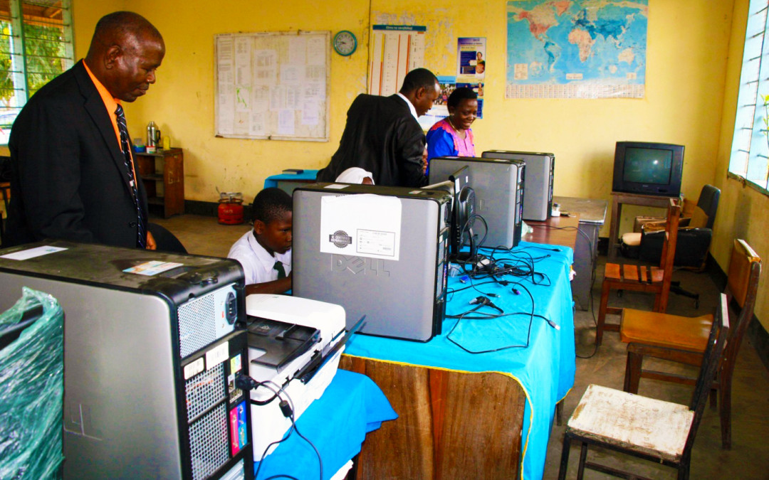 Mission-Africa Tanzania Uses InterConnection Computers in Rural Tanzania